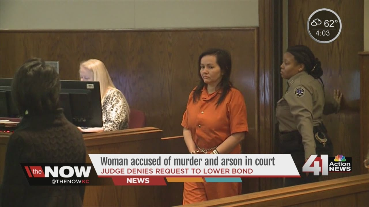 Arson suspect in court