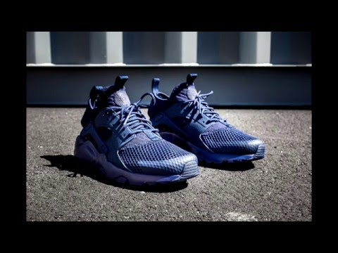 Nike Air Huarache Run Ultra BR Midnight Navy. Sneakers and Caps