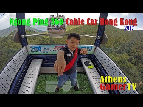 Ngong Ping 360 Cable Car Hong Kong AthensGamerTV by Athens Thanakrit