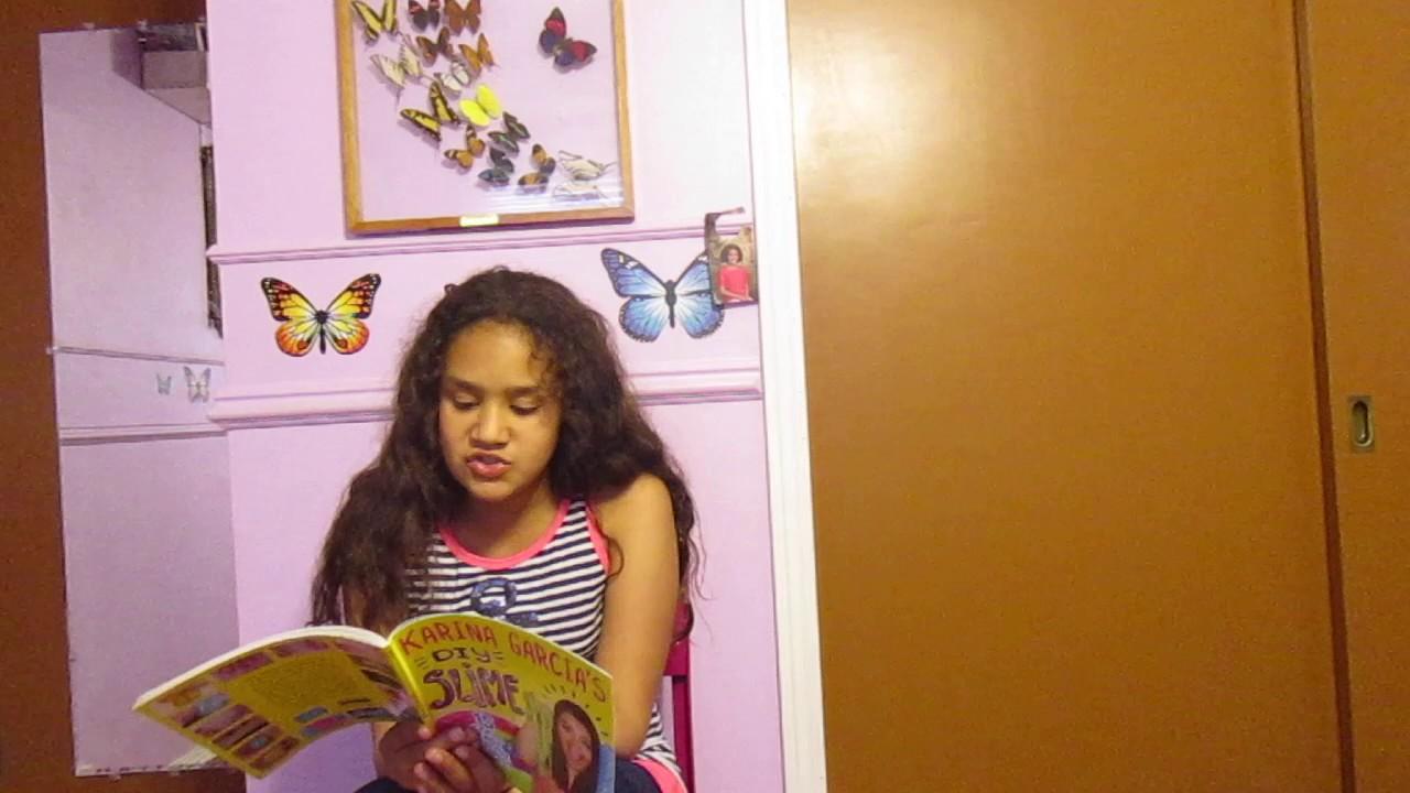 Karina Garcia's Diy Slime Book Review!