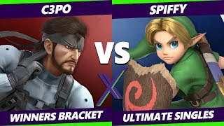 Smash Ultimate Tournament - C3PO (Snake) Vs. Spiffy (Wario, Young Link) S@X 307 SSBU Winners Round 3