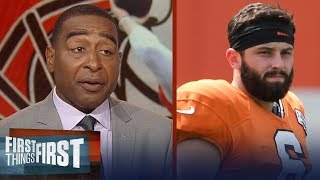 Cris Carter on the biggest adjustment ahead for rookie Baker Mayfield | NFL | FIRST THINGS FIRST