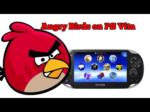 PS Vita Angry Birds Review (PS Vita Minis)