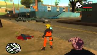 Gta San Andreas: Naruto Rasengan RELEASE! :D FIX IN FILE WITH SOUND FX