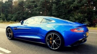 2013 Aston Martin Vanquish Sound!! One of the first on the open road! - 1080p HD
