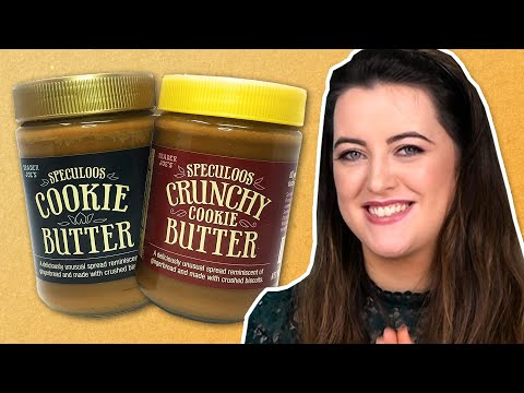 Irish People Try American Cookie Butter
