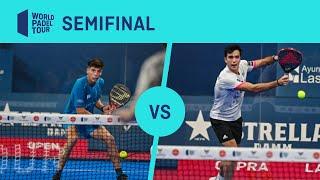 Resumen semifinal Chingotto/Tello Vs Galán/Lebrón Cupra Las Rozas Open 2020