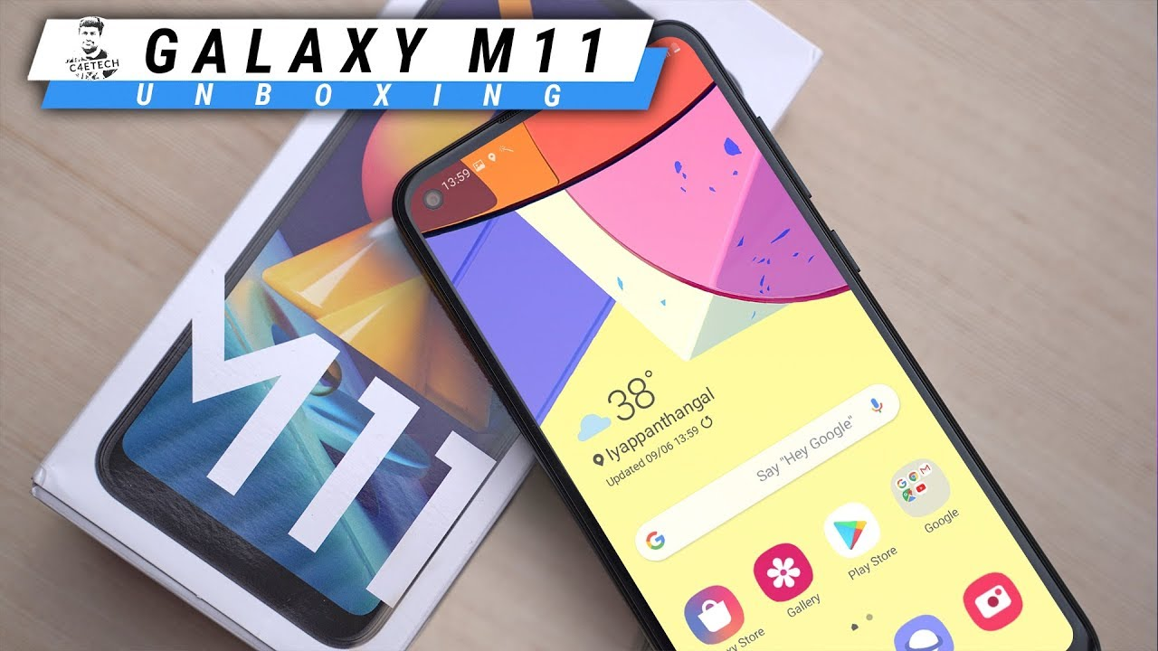 Samsung Galaxy M11 The Best Non Chinese Budget Option Unboxing Hands On Youtube