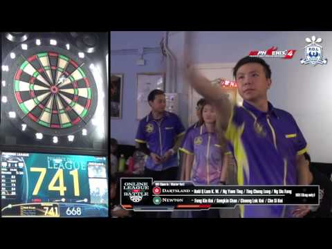 Online League Battle - Dartsland (HK) VS Newton (MO) Game 9
