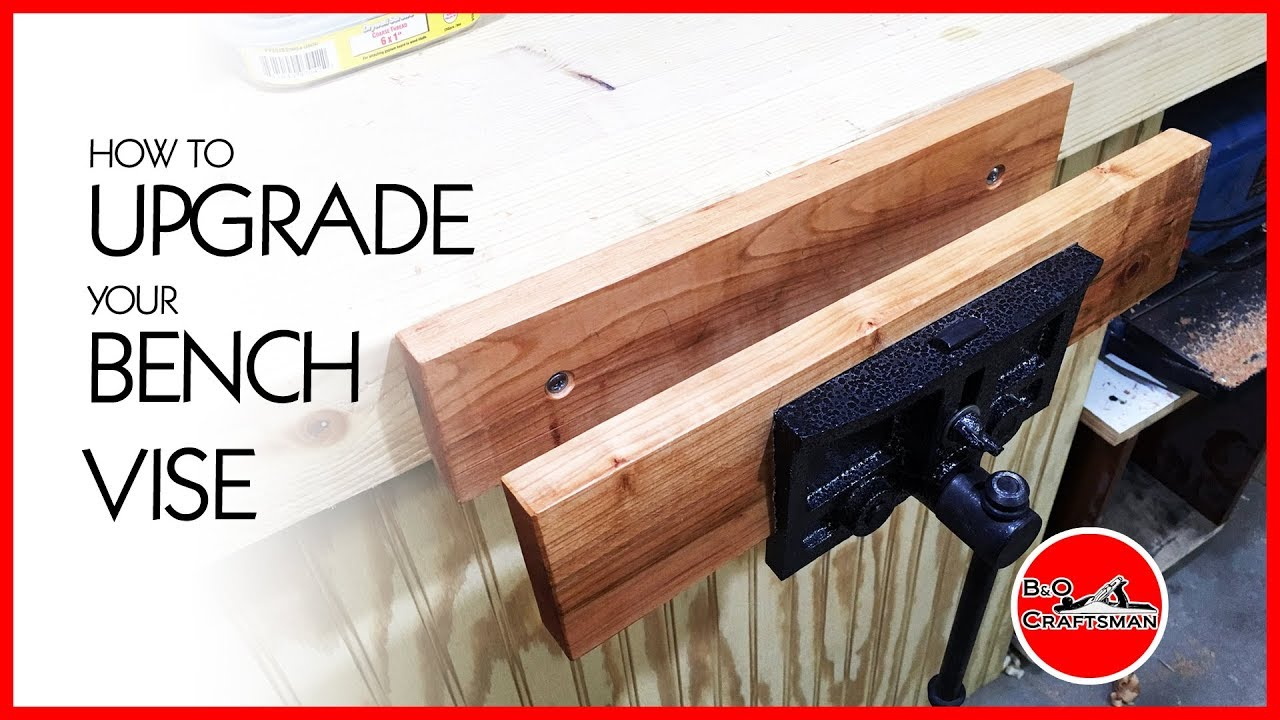 How To Upgrade Your Bench Vise Youtube