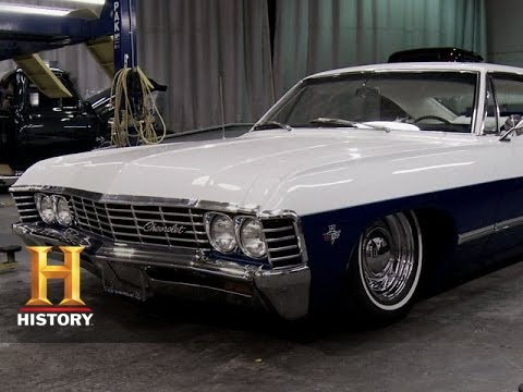 Counting Cars: Fur-Lined Casino Prize Car | History