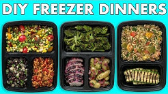 Freezer Meals! Healthy Meal Prep - Freezer Dinners! - Mind Over Munch