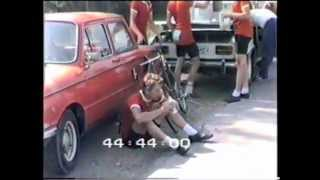 После велогонки на шоссе в Прибалтике 1985 год