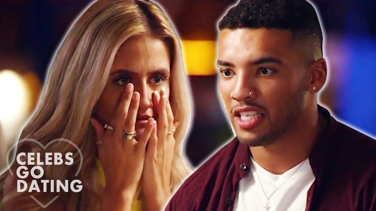 Date CONFRONTS Callum Izzard for Bringing ANOTHER GIRL on Holiday! | Celebs Go Dating