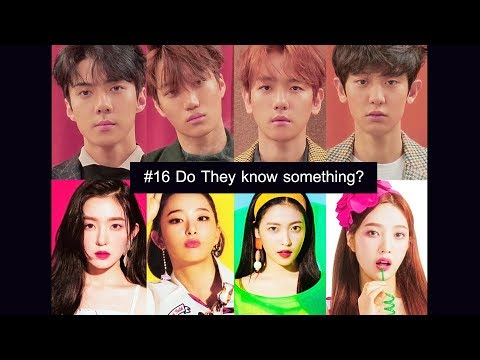 [wensoo] EXO D.O. & RED VELVET WENDY moments #16 - Do they know something?