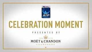 Moet Moment Dimitrov Wins Nitto ATP Finals 2017