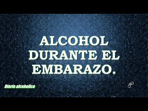 Alcohol durante el embarazo