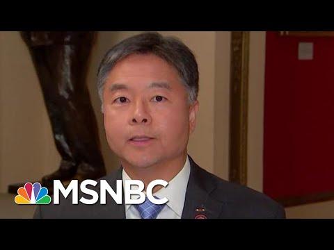 Ted Lieu Calls Bill Taylor's Testimony 'Damning' For President Donald Trump | Hardball | MSNBC