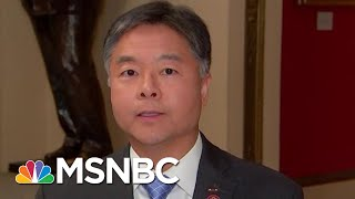 Ted Lieu Calls Bill Taylor's Testimony 'Damning' For President Donald Trump | Hardball | MSNBC