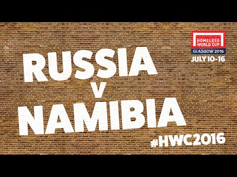 Russia v Namibia | Second Stage Group A #HWC2016