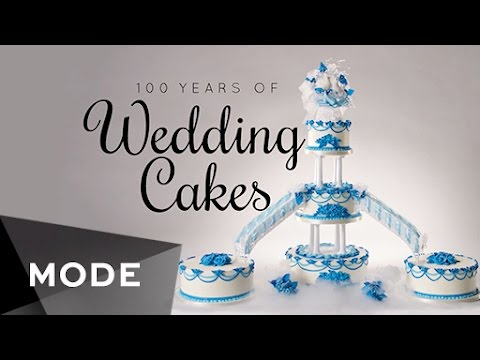 Thumbnail: 100 Years of Wedding Cakes and Toppers ★ Mode.com