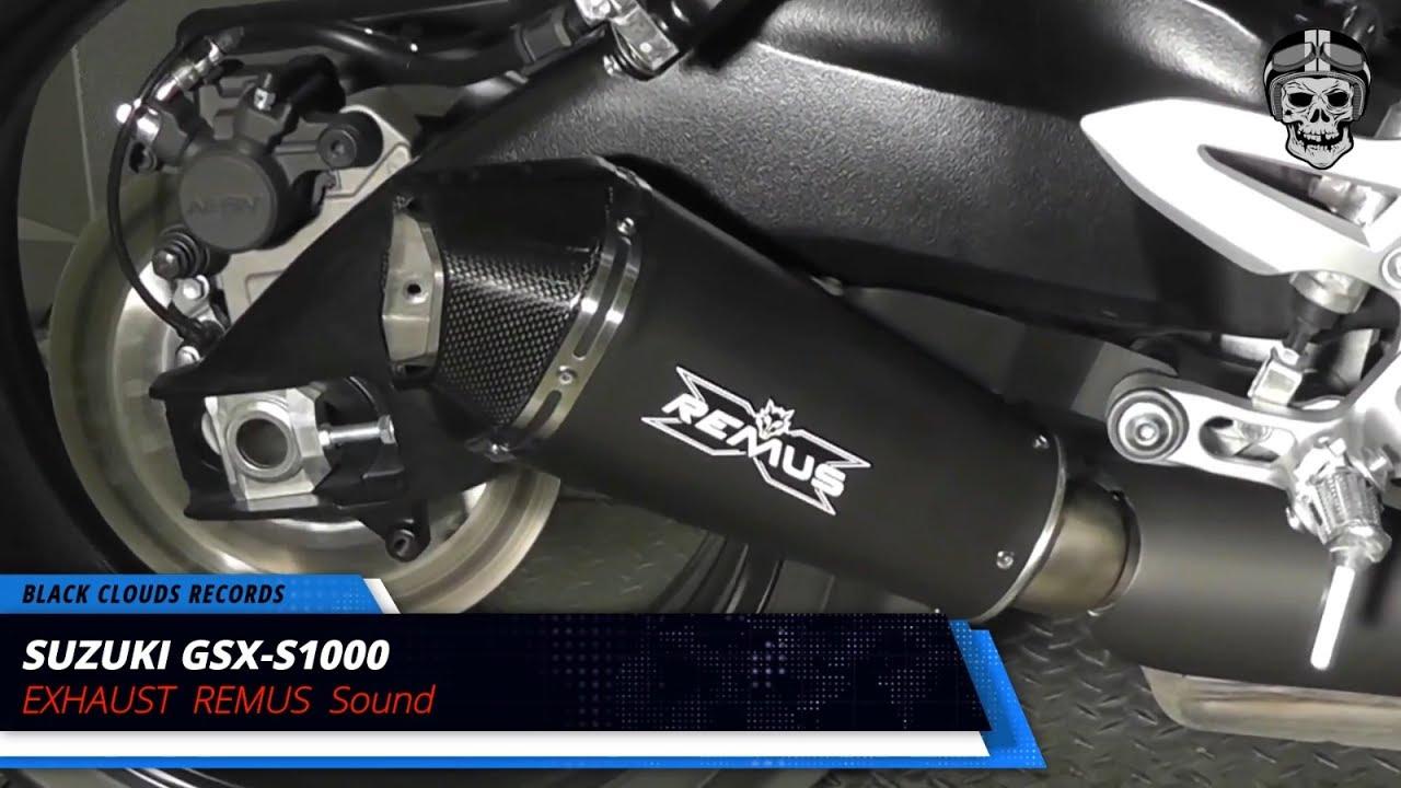 hot 8 full exhaust sound suzuki gsx s1000, remus, sc project