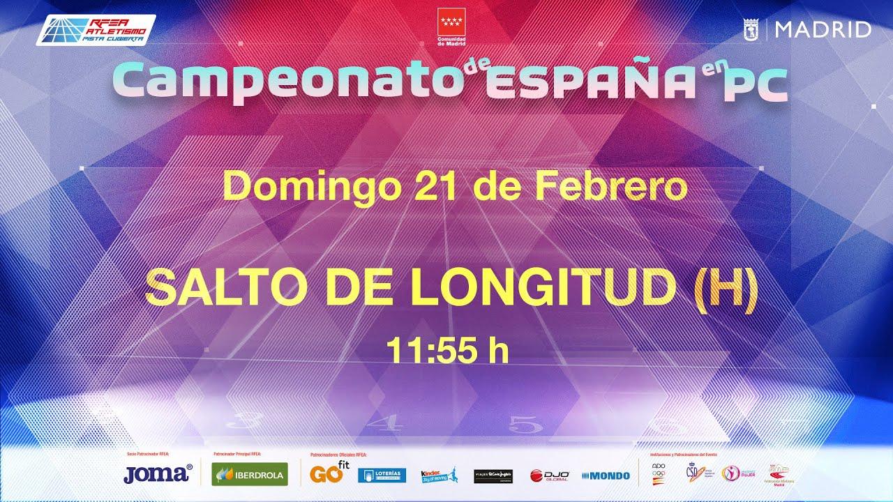 LVII Campeonato de España Absoluto en Pista Cubierta – Madrid (DOMINGO) Concursos 2