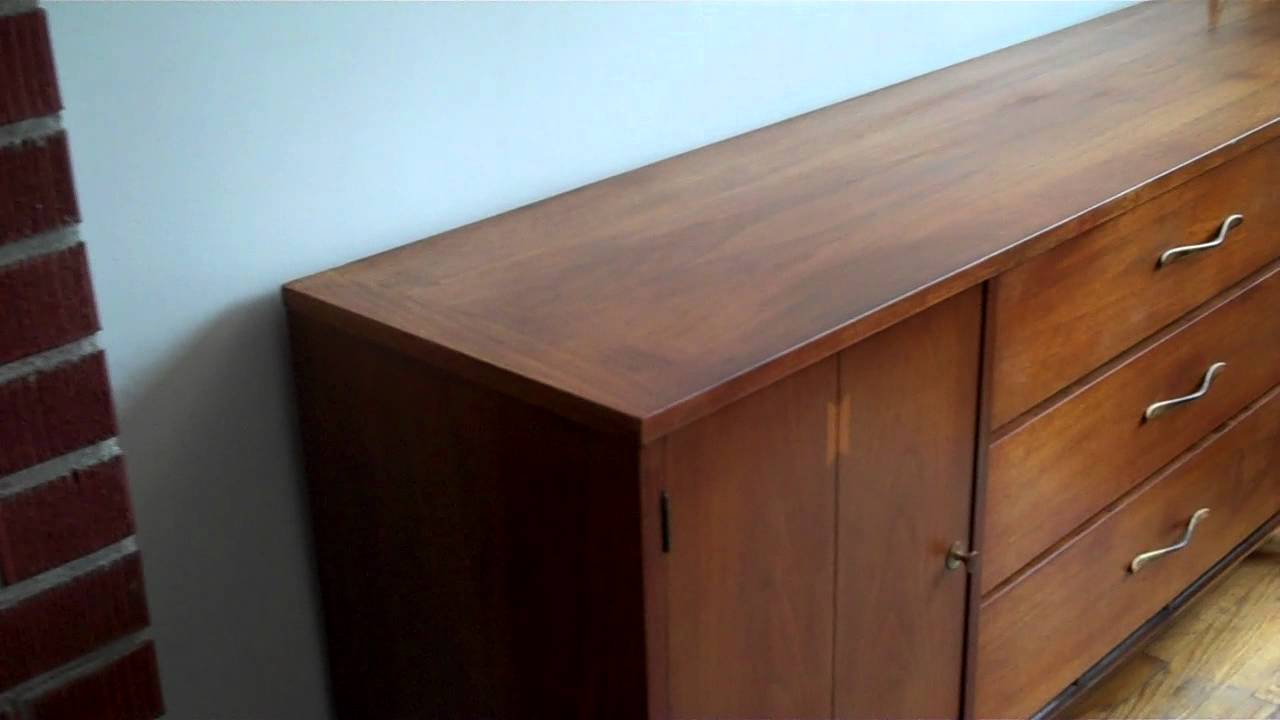 Robs In Home Furniture Repair 1960 Modern Dining Table And Sideboard Restored