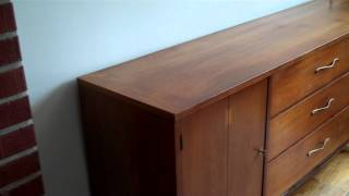Rob's In Home Furniture Repair 1960 Modern Dining Table And Sideboard Restored
