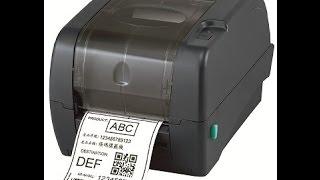 видео Принтер этикеток TSC TTP245C