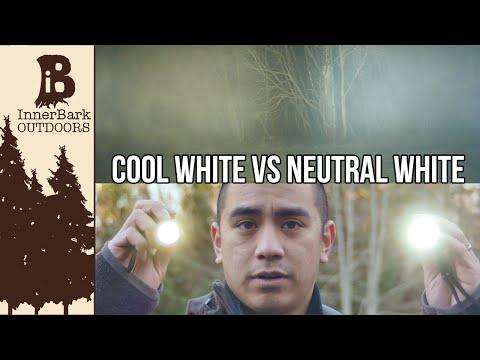 Thrunite LED Color: Cool White vs. Neutral White