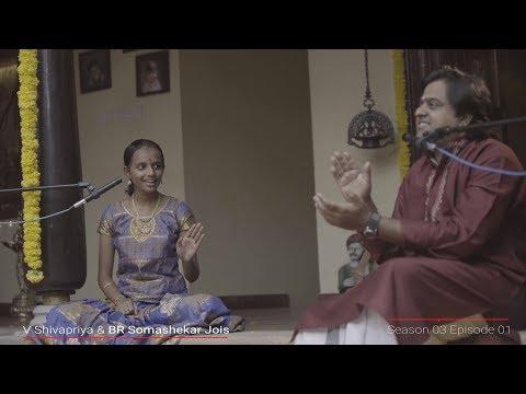 MadRasana Unplugged Season 03 Episode 01 - V Shivapriya & BR Somashekar Jois