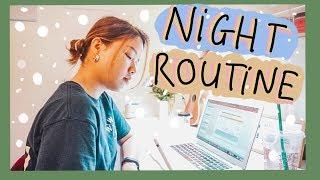 🌜BUỔI TỐI CHILL CHILL của DU HỌC SINH MỸ 🇺🇸 🌟 School Night Routine ☕ | Diane Le