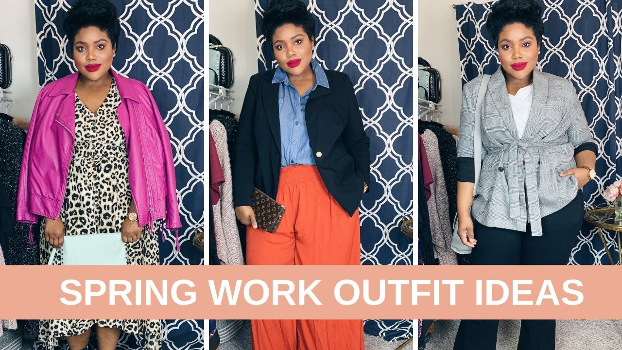 PLUS SIZE WORK OUTFIT IDEAS // SPRING EDITION | RHONDA PETERSON 3