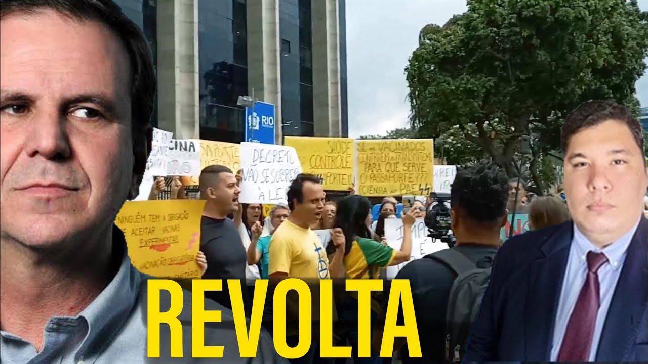 Download MANIFESTAÇÃO CONTRA O PASSAPORTE SANITÁRIO NO RIO