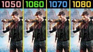 Bioshock Infinite GTX 1050 Ti vs. GTX 1060 vs. GTX 1070 vs. GTX 1080