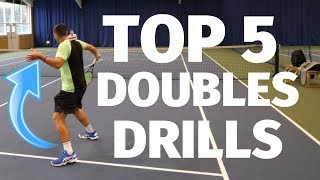 Top 5 Tennis Drills For Doubles Players - Top Tennis Training