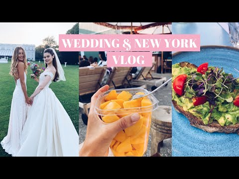 WEDDING & NYC VLOG  // HOW I EAT HEALTHY WHILE TRAVELING, MY VEGAN COMFORT FOODS & TIPS TO DESTRESS