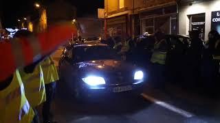 MACON-INFOS : Gilets jaunes en action à Mâcon ce 18 décembre