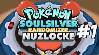 Pokemon SoulSilver Randomizer Nuzlocke Challenge | Part 1
