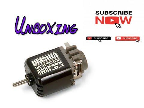 Unboxing Merakit Tamiya Plasma Dash Motor