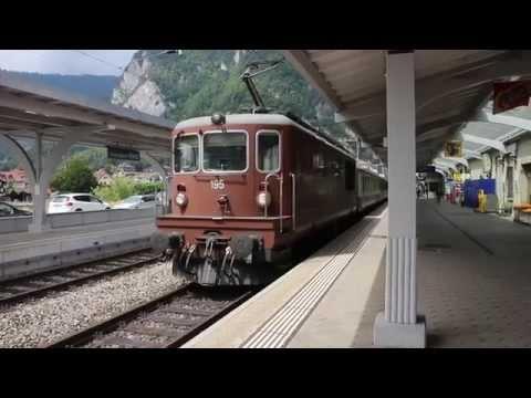Trenes en Suiza, Austria y Alemania 2013