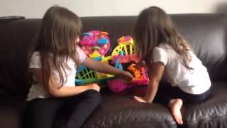 SHOPKINS and POLLY POCKET games with Evie and Beau