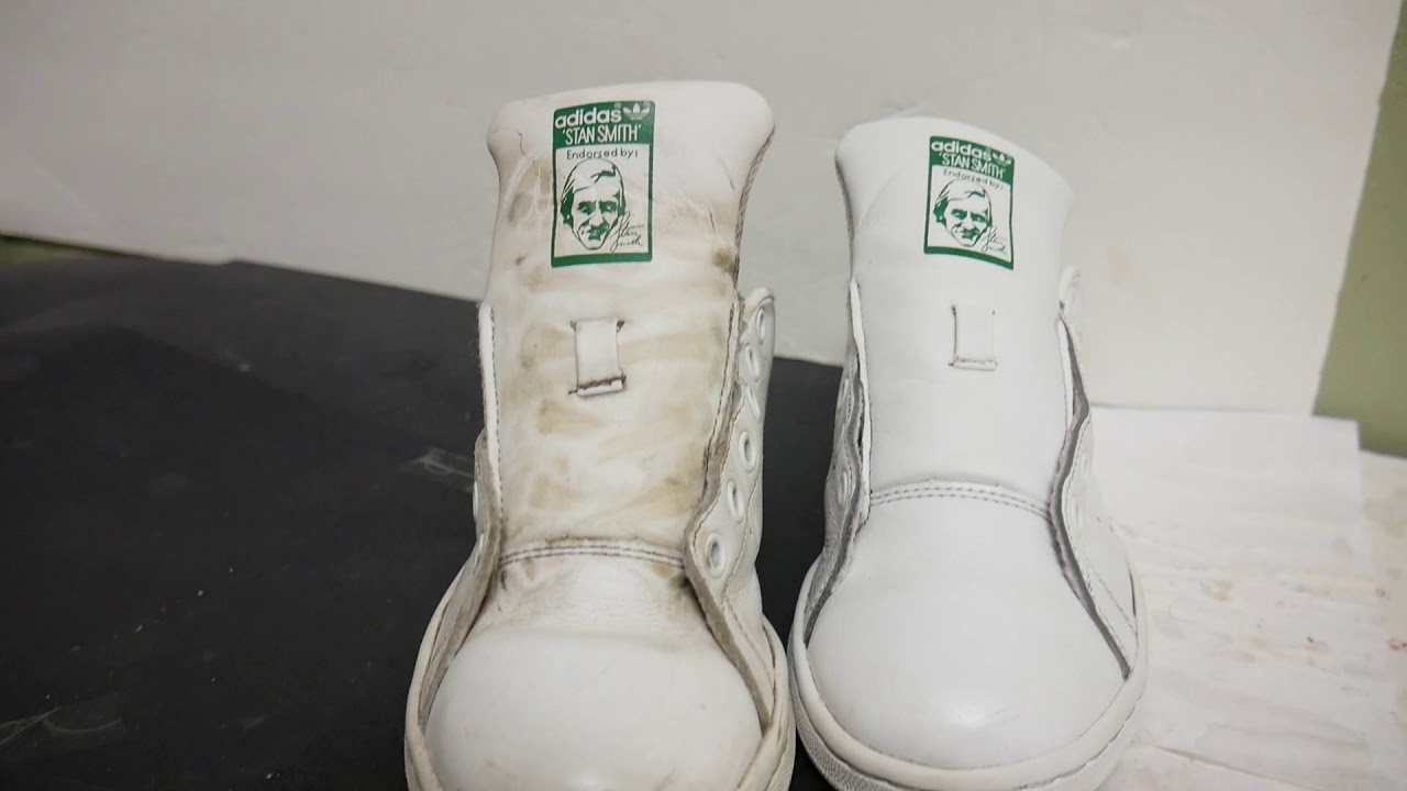 the best attitude 5ae1f 3b765 how to restore your old sneaker ( adidas stan smith )