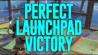 The Perfect Launchpad Victory! Fortnite Gameplay - Ninja