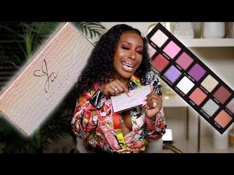 Jackie Aina x ANASTASIA BEVERLY HILLS Palette Reveal!