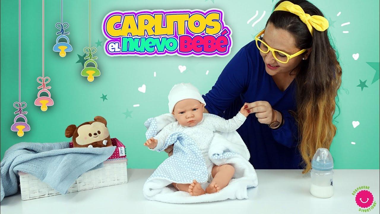Nuevo Muñeco Bebé ⭐CARLITOS⭐Parece de verdad 😱
