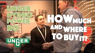 Unger HydroPower RO: How much and where to buy it?