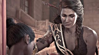 Assassin's Creed Odyssey - Death of Phoibe Cutscene (PS4 Pro)