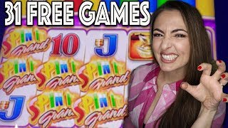 $25/BET on SPIN IT GRAND in Vegas!